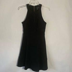 Windsor fit and flare party dress black size small
